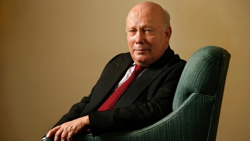 """Julian Fellowes is keeping busy now that """"Downton Abbey's"""" over, with the novel """"Belgravia"""" and the Amazon Prime miniseries """"Dr. Thorne."""" He's also about to embark on """"The Gilded Age"""" for NBC."""