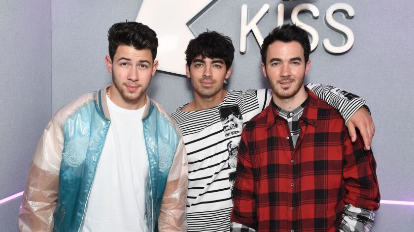 The Jonas Brothers Visit KISS FM