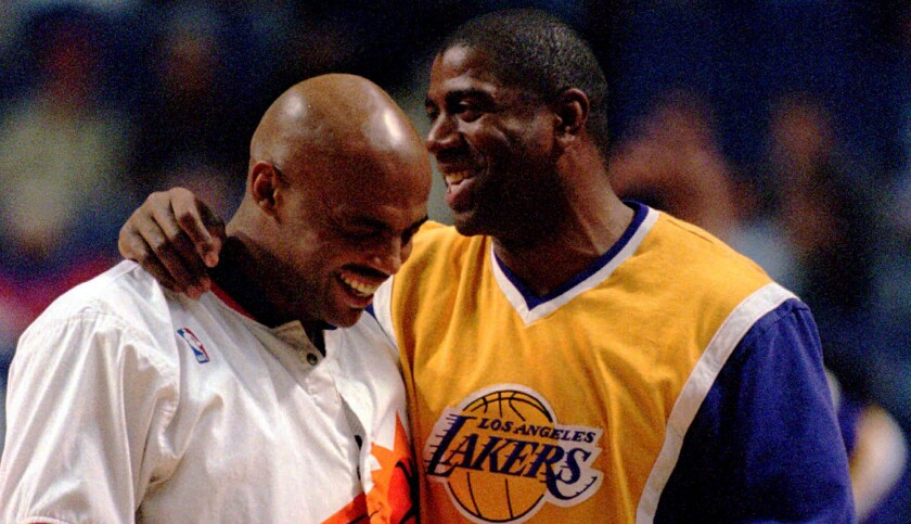 What if Charles Barkley and Magic Johnson joined forces?
