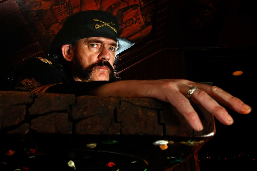Lemmy in West Hollywood in 2011.
