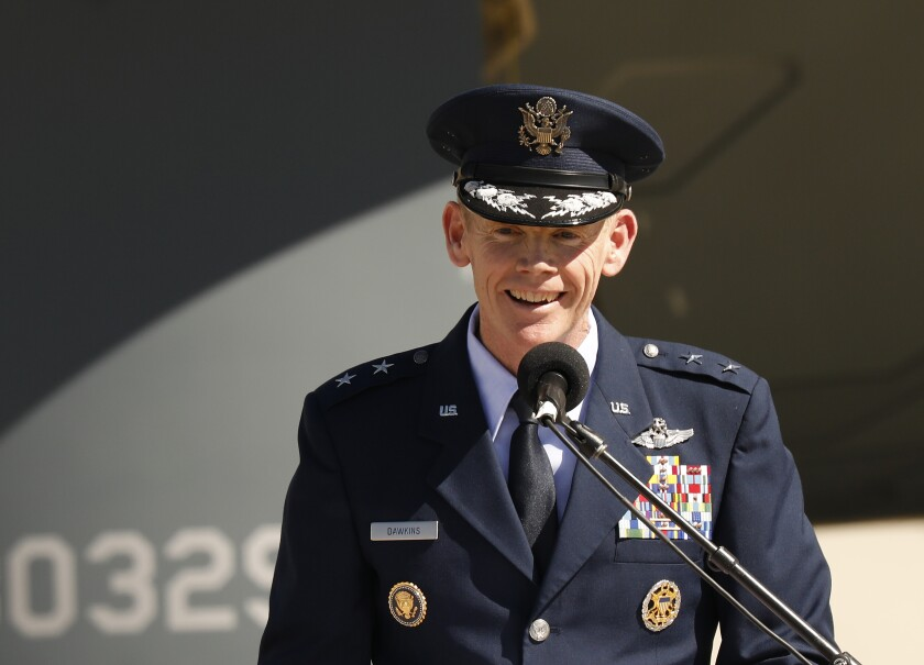 Air Force Major General James Dawkins Jr.