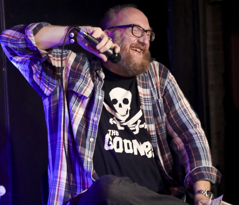 LOS ANGELES, CA - JUNE 01: Brian Posehn attends D&D Live From Meltdown Comics Comics and Collectibles on June 1, 2016 in Los Angeles, California. (Photo by Randy Shropshire/Getty Images for Wizards of the Coast)