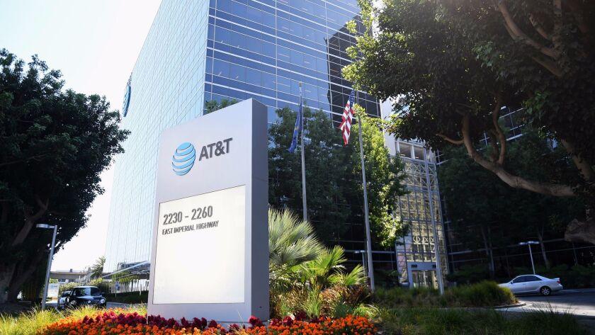 AT&T's offices in El Segundo.