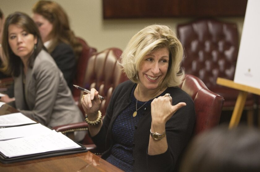 Nancy McFadden, a top aide to Gov. Jerry Brown, formerly was an executive for PG&E.