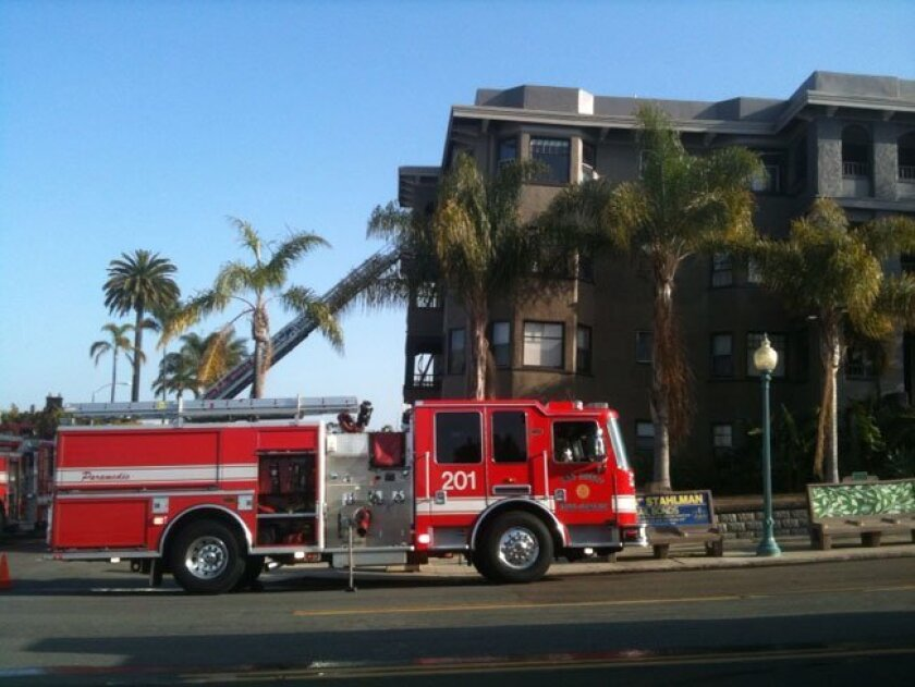 Retired San Diego Rescue-Fire Department officials are the city's top pension earners, according to a new report.