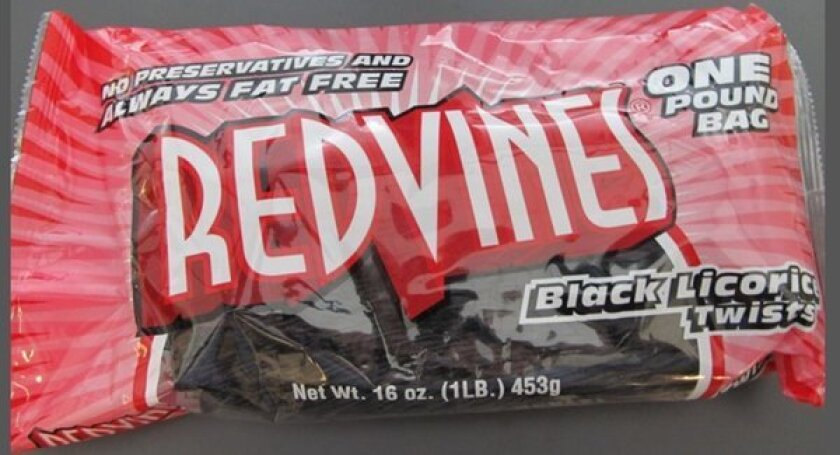 Red Vines black licorice twists recalled due to lead levels