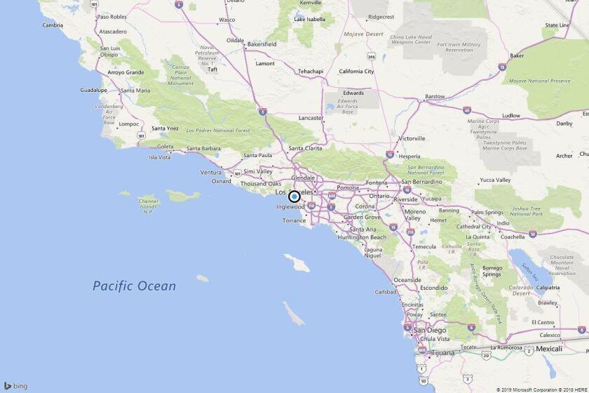 Earthquake: 2.6 quake strikes near Ocean Park, Calif.