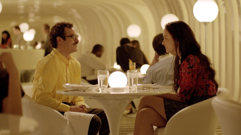 Joaquin Phoenix and Spike Jonze connect to 'Her' - Los Angeles Times