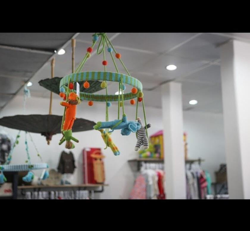 Mobiles, books and décor items are also available at Little Love Designer Children's Consignment Boutique in La Jolla.