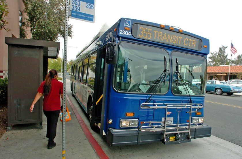 TRANSIT: Bus service changes to start Sunday - The San Diego