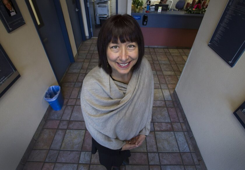 Christina Entrekin is the new director of social services at Interfaith Community Services in Escondido. Jamie Scott Lytle
