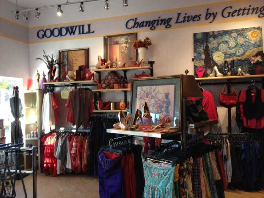 Goodwill is opening a Clearance Center in Escondido. Pictured is one of the nonprofit's stores.