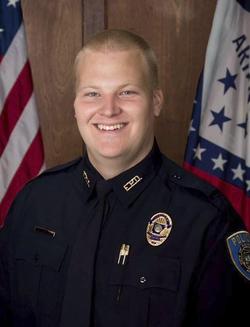 Officer Killed Arkansas