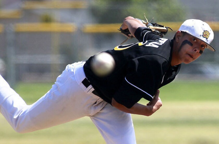 San Fernando and ace Alonzo Garcia have earned the No. 1 seeding in the City Section Division I playoffs.