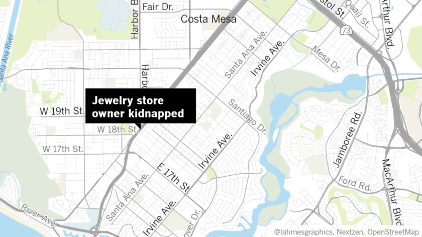 Jewelry store owner kidnapped