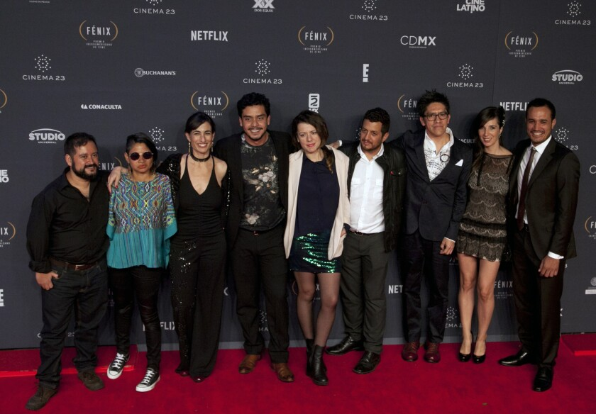 'Ixcanul' cast and crew