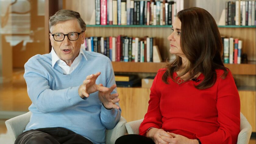 The foundation of Bill and Melinda Gates is making a new push in education reform, with $92 million in grants announced Tuesday.