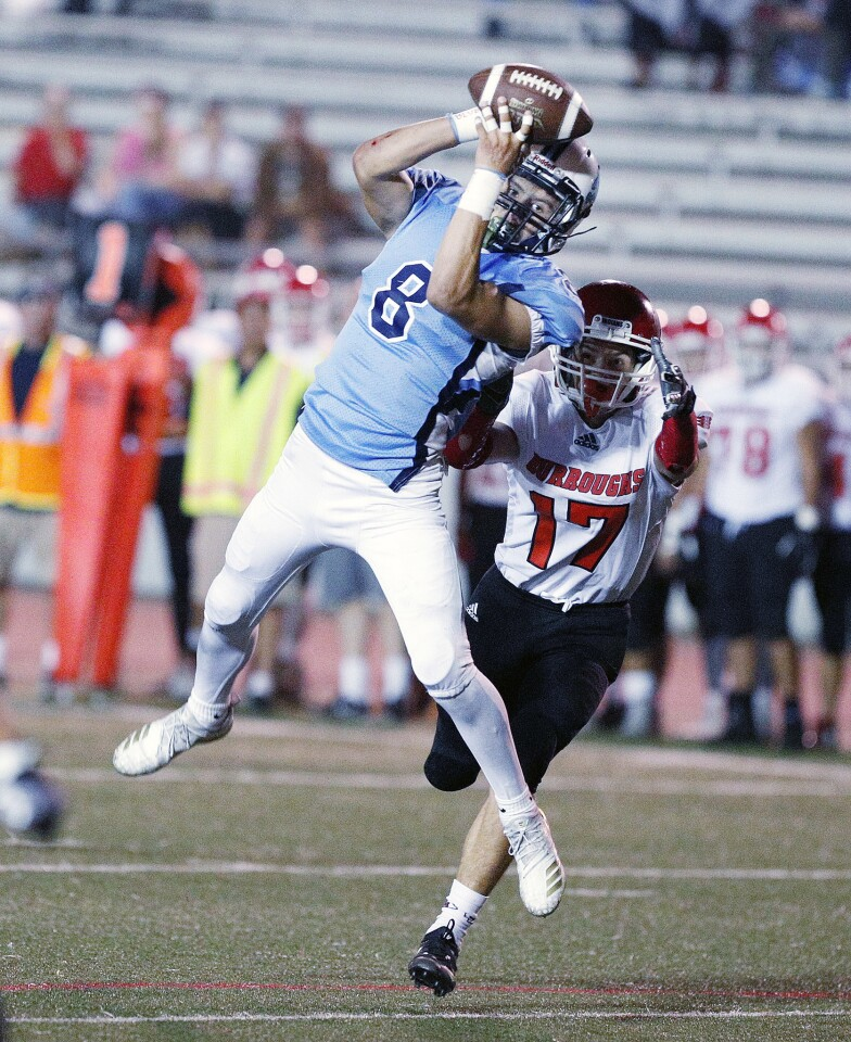 Photo Gallery: Crescenta Valley vs. Burroughs in Pacific League football