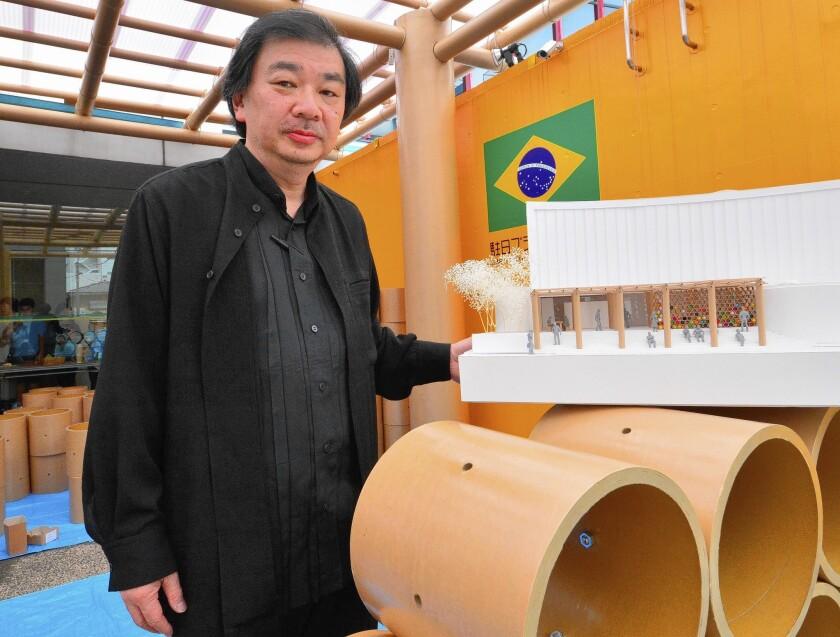 Pritzker Architecture Prize winner Shigeru Ban