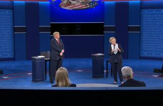 Clinton claims Russia hacks are politically motivated; Trump disagrees