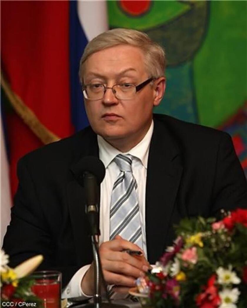 El viceministro de Asuntos Exteriores de Rusia, Serguei Riabkov. EFE/Archivo