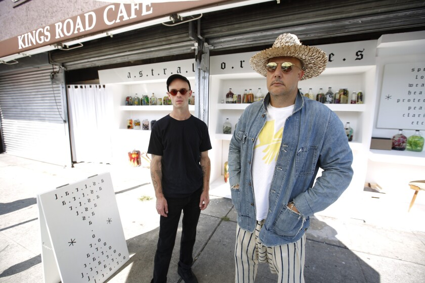 LOS ANGELES, CA., AUGUST 14, 2018--With fewer people buying magazines, the Newsstand Project is an a