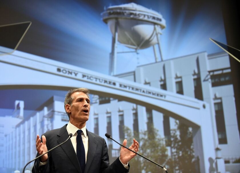Michael Lynton is the chief executive of Sony Pictures Entertainment, which last year suffered a devastating cyberattack by North Korea. The U.S. Department of Justice has created a new office to help companies prevent attacks and respond when they happen.