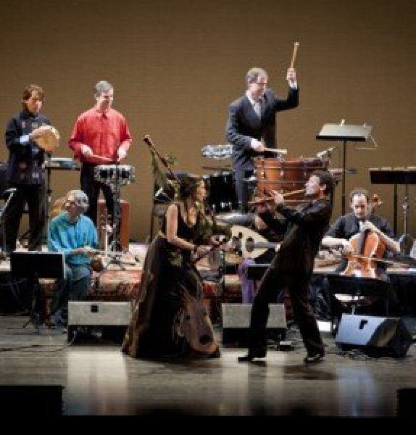 Silk Road Ensemble performs 6 p.m. Oct. 20 at Museum of Contemporary Art San Diego's Sherwood Auditorium. Courtesy