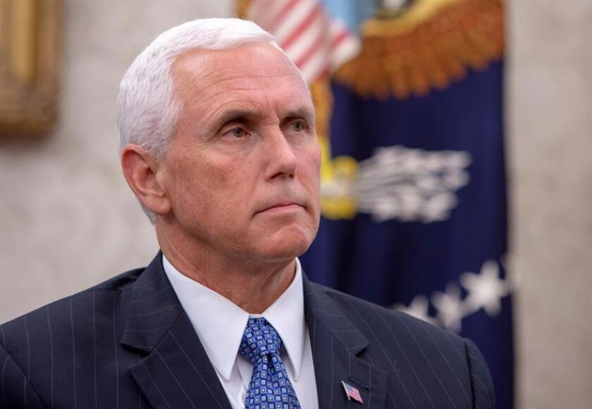 El vicepresidente, Mike Pence, iniciará el próximo domingo una gira en la que visitará Japón, Singapur, Australia y Papúa Nueva Guinea, informó hoy la Casa Blanca. EFE/ARCHIVO