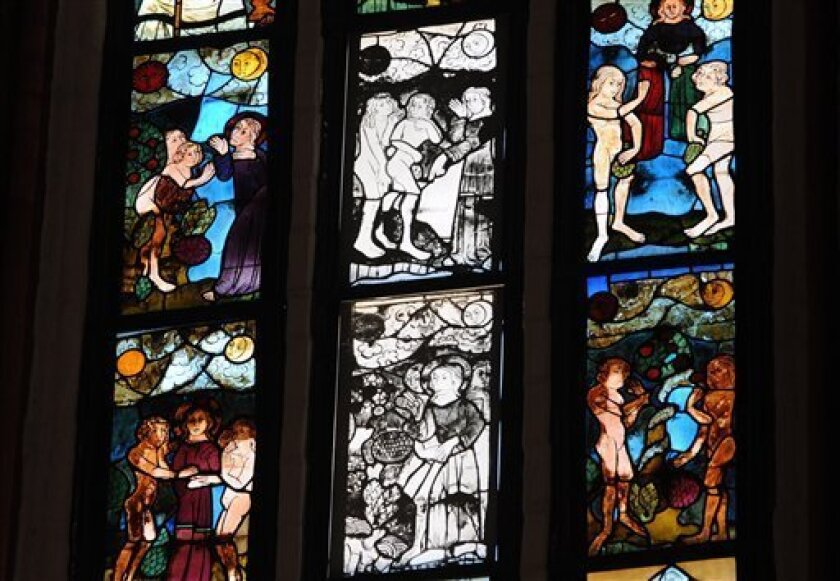 Stained Glass San Diego.Russia Returns Stained Glass To German Church The San