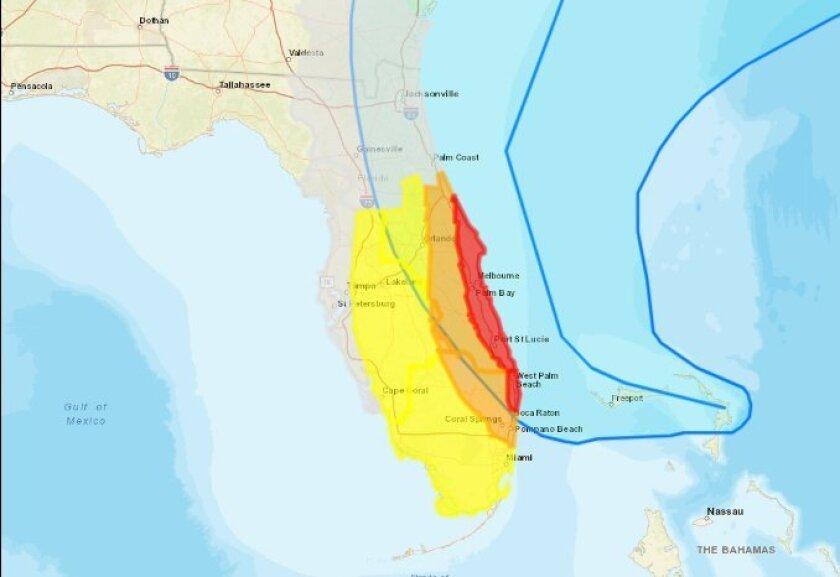 Hurricane Dorian Florida impact