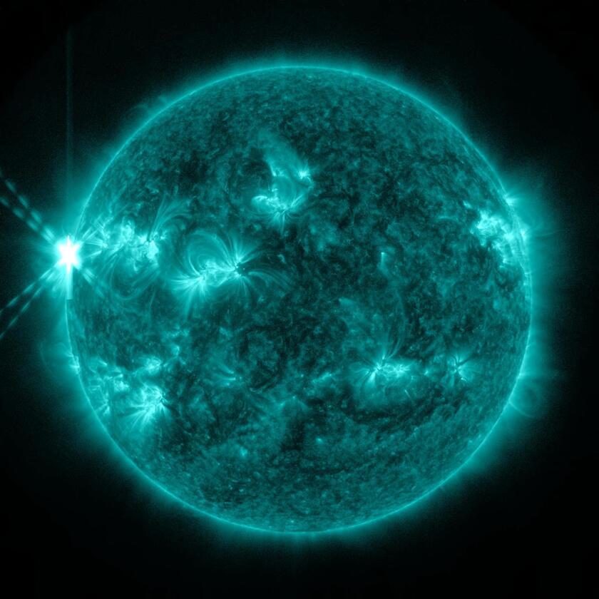 Monday's Solar Flare