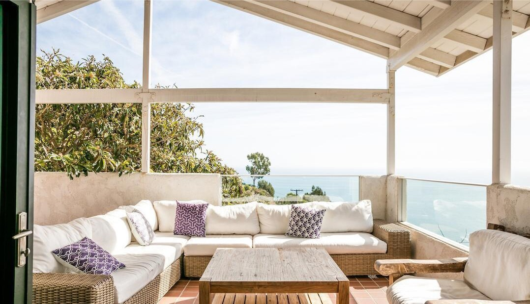 Stuart Townsend's Malibu home