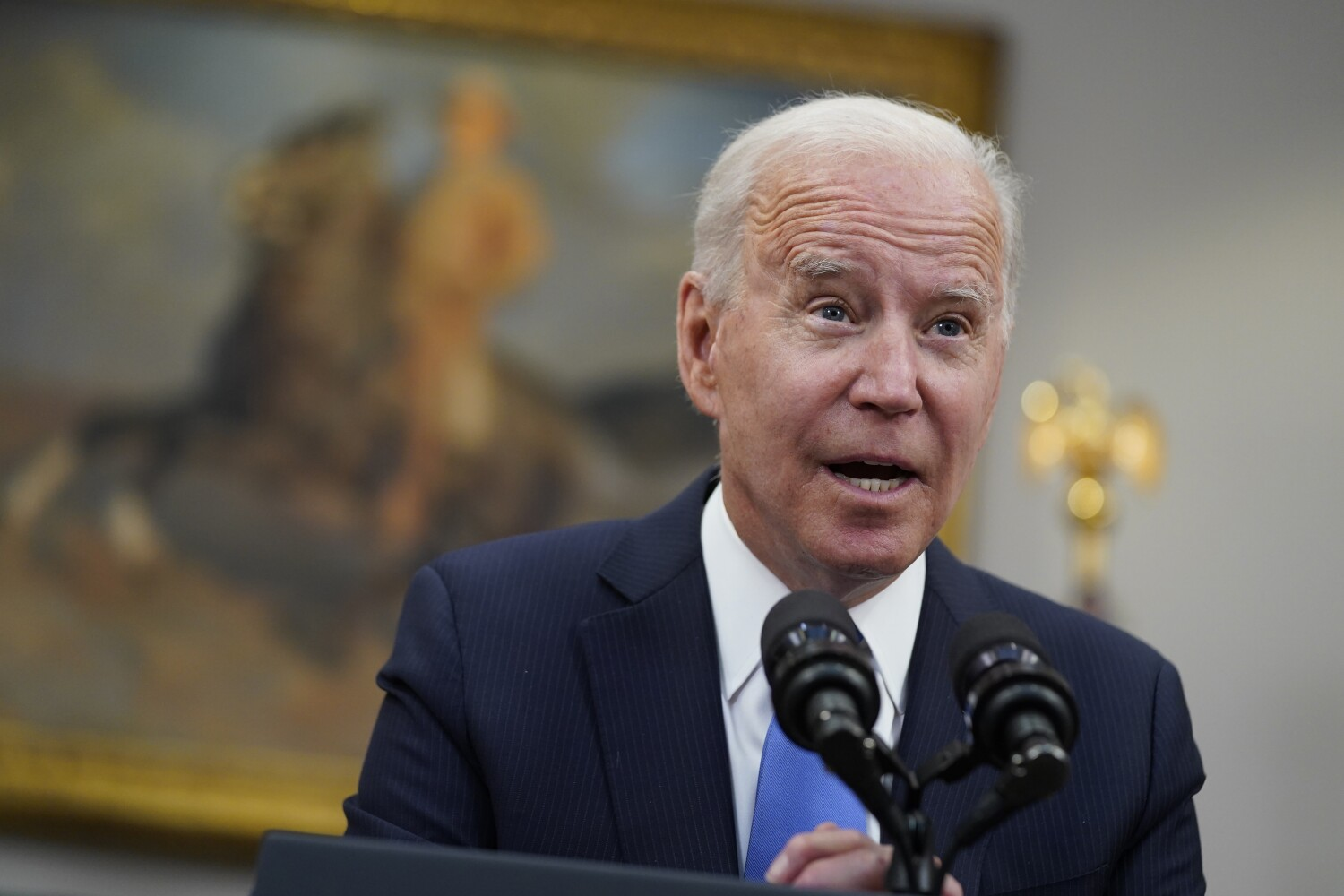 With Biden's first budget, annual federal spending would top $6 trillion