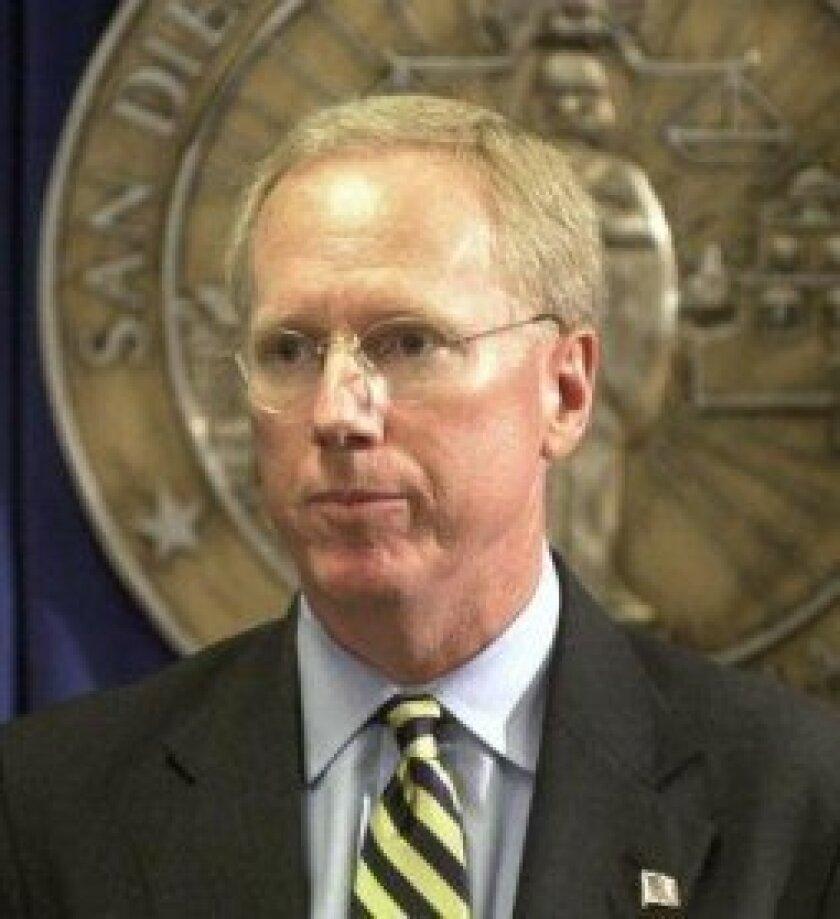 Former San Diego County District Attorney Paul Pfingst is defending former Jack's La Jolla bookkeeper Tara Moore.