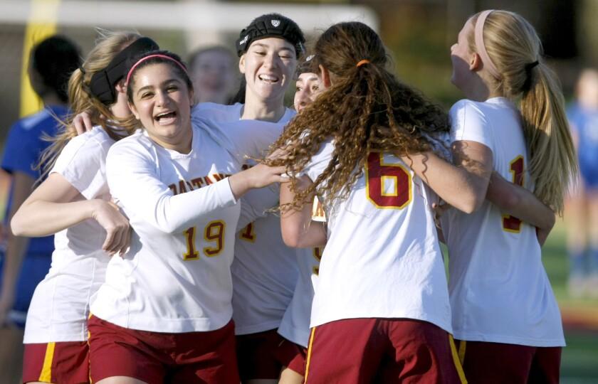 La Cañada High girls' soccer
