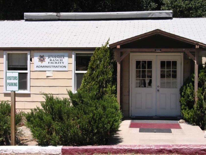 The Juvenile Ranch Facility in Campo.