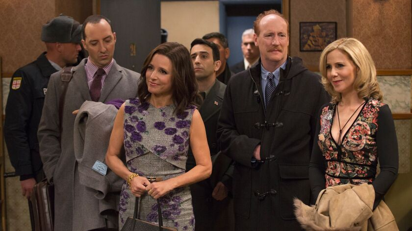 "KEY SCENE: Veep--""Georgia"". Written by Billy Kimball Set the scene: Selina (Julia Louis-Dreyfus) ar"