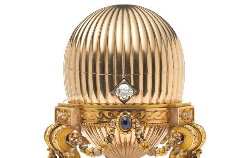 A Faberge egg worth millions was purchased at a flea market in the U.S. for just $14,000. Estimates of its worth are as high as $33 million.