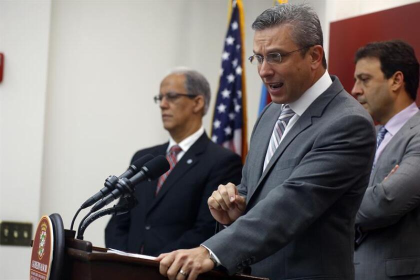 El exgobernador de Puerto Rico, Alejandro García Padilla. EFE/Archivo