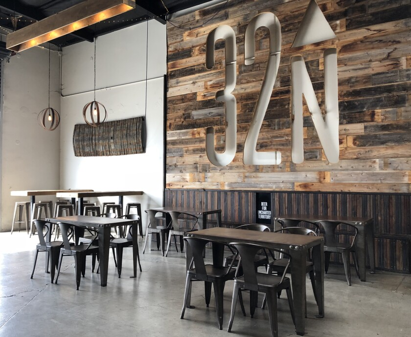 The tasting room at 32 North Brewing Co. in Miramar.