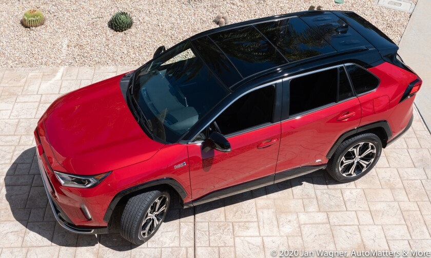 2021 Toyota RAV4 Prime XSE All-Wheel-Drive