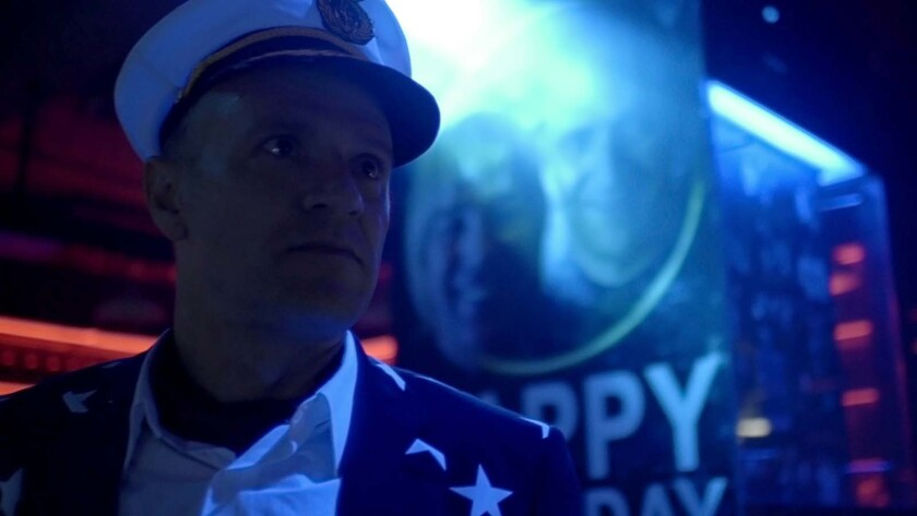 """David Zellner in a scene from """"Ghostbox Cowboy."""" Credit: Dark Star Pictures"""