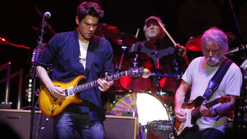 LOS ANGELES , CA-DECEMBER 30, 2015: Dead & Company, a new group pairing 3 members of the Grateful De