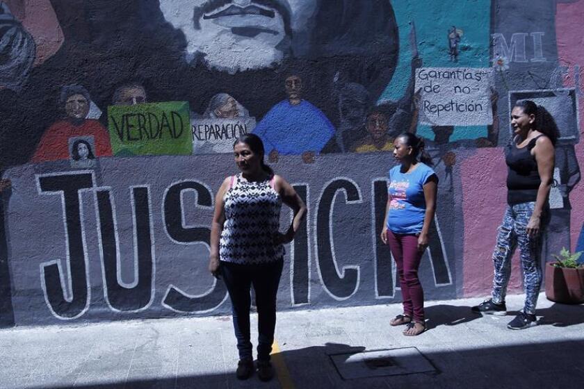 Nueve de cada diez mexicanos considera que su país es violento para las mujeres, según una encuesta presentada hoy por el Centro de Opinión Pública de la Universidad del Valle de México (UVM). EFE/Archivo