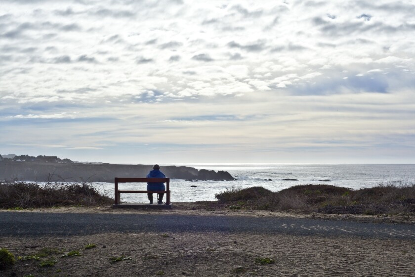 A view point along the Coastal Trail.