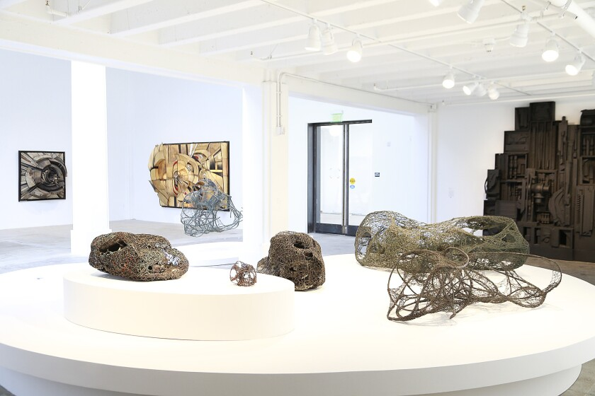 """The vast space of Hauser Wirth & Schimmel makes it the perfect venue for the exhibition """"Revolution in the Making: Abstract Sculpture by Women, 1947-2016."""""""