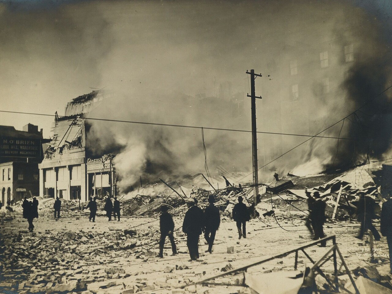 Images from 1906 San Francisco earthquake