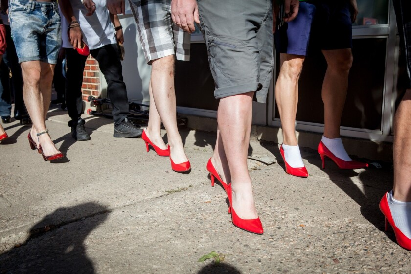 Walk a Mile in Her Shoes.