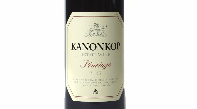 If you've never had wine from South Africa before, prepare yourself for a treat with with this 2013 Kanonkop Pinotage.